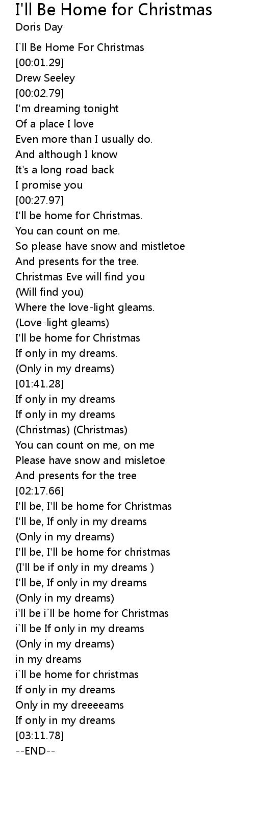 Home For Christmas Lyrics
