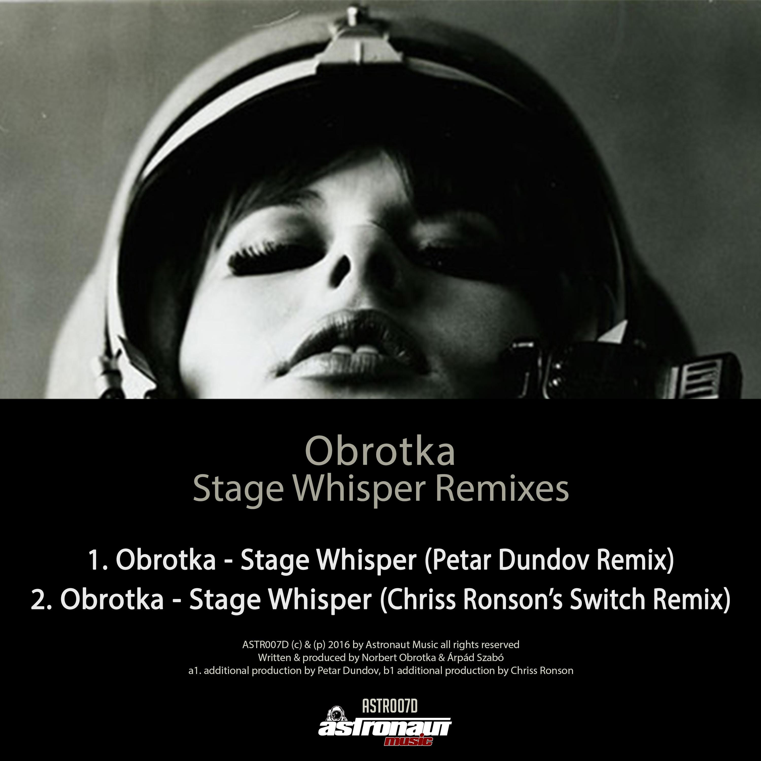 Stage Whisper (Chriss Ronson's Switch Remix)